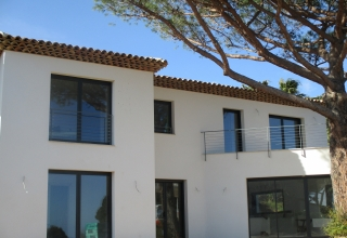 Construction villa Sainte Maxime