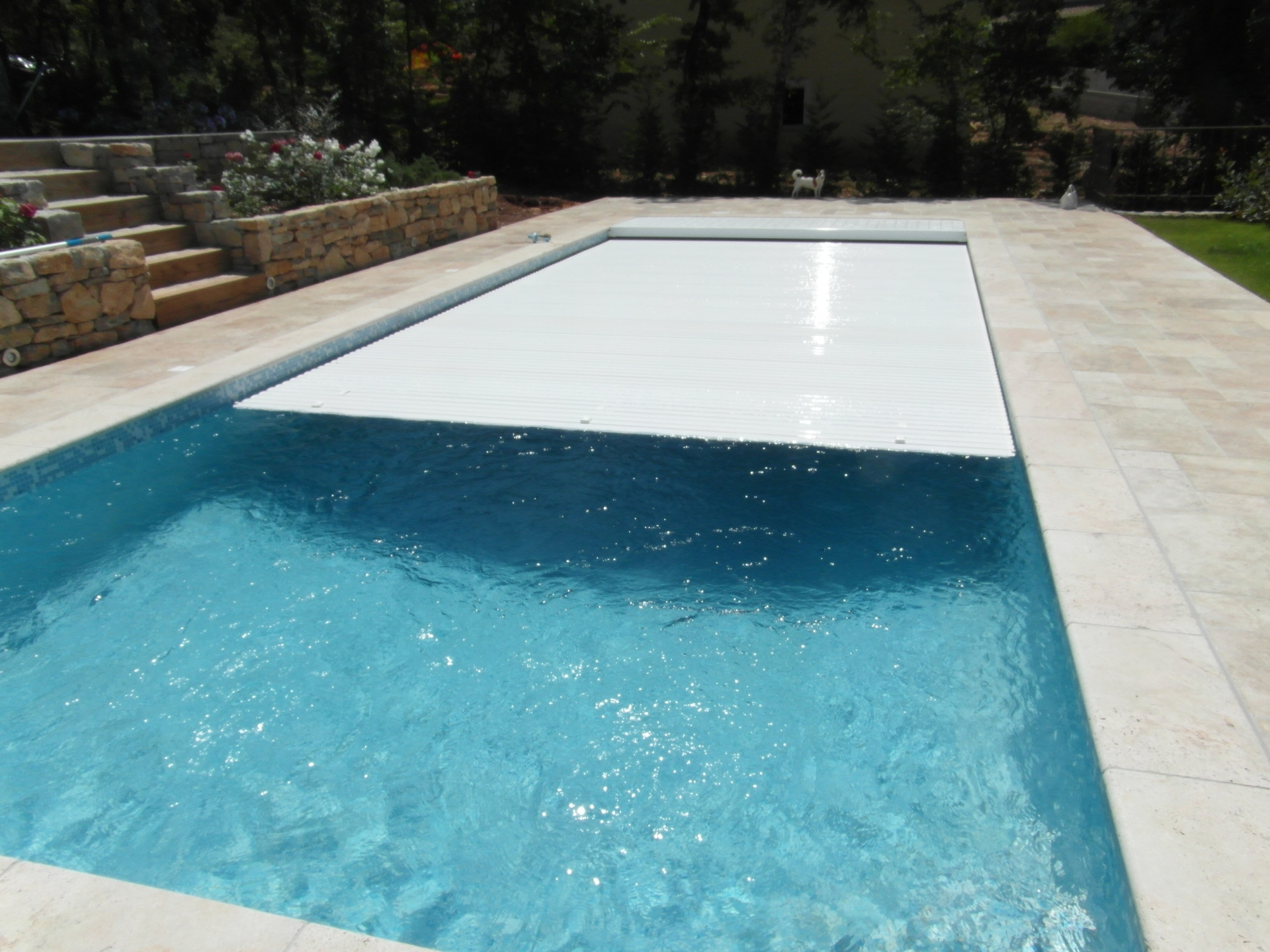 R alisations celentano maconnerie piscine 10 x 4 en for Video x piscine